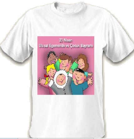 23 nisan çocuk bayramı tişörtleri