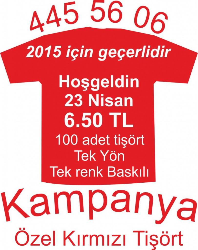 Kampanya Tişört Baskılar