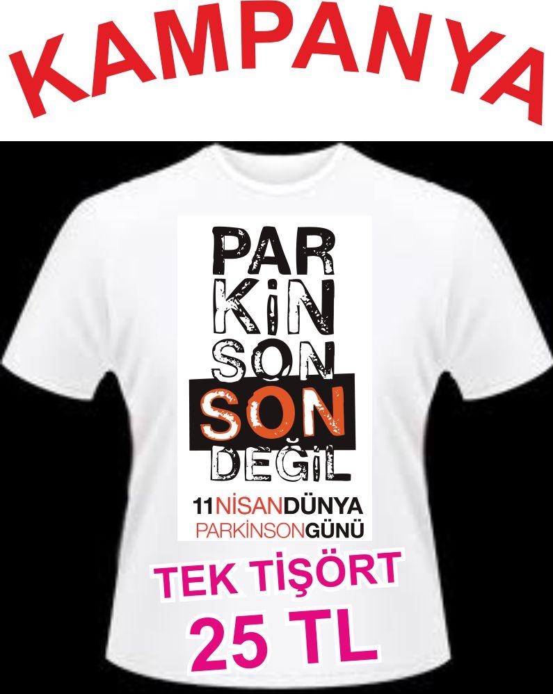11 Nisan Dünya Parkinson Günü Tişörtleri