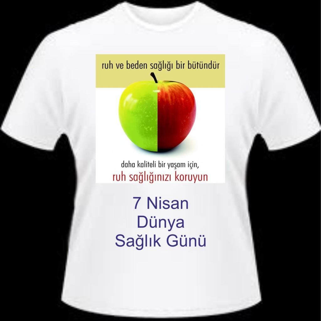 izmir sağlık Tişörtleri