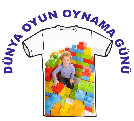 dünya oyun oynama günü tişörtleri