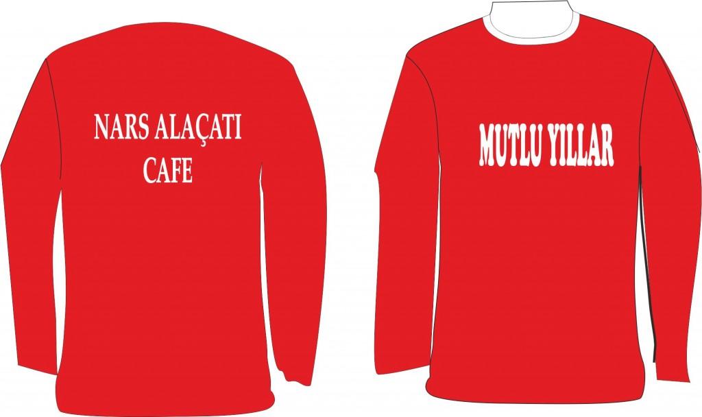 cafe tişörtleri