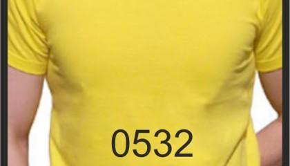 Sarı Tişört Promosyon