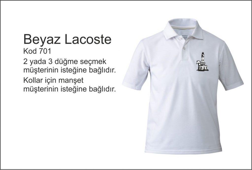 beyaz polo yaka izmir tişört baskı katalog
