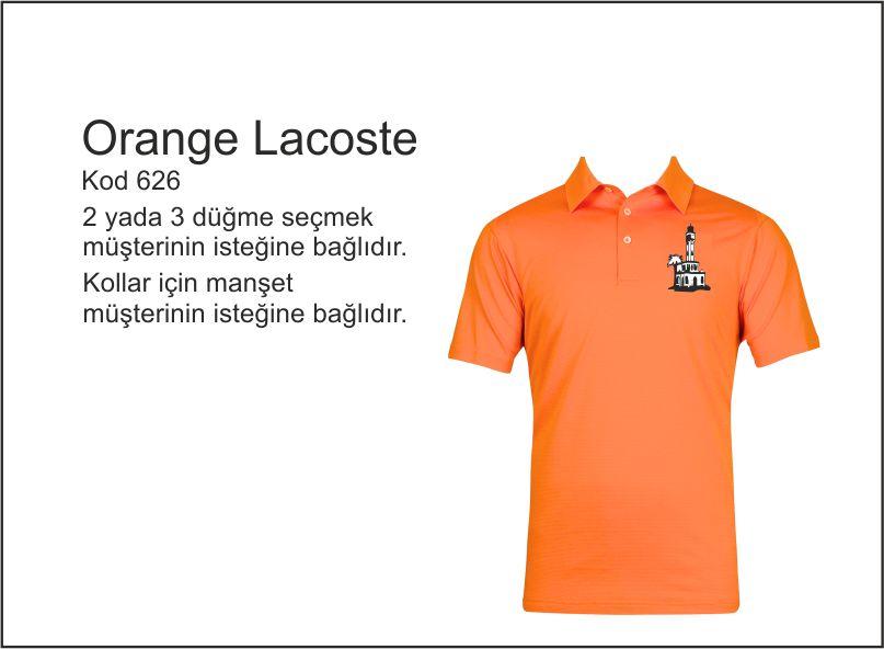 izmir tişört baskı orange polo yaka