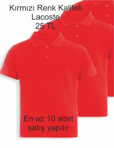 kırmızı renk lacoste